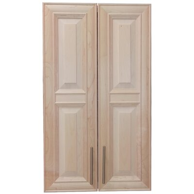 Overton 21 x 38 Recessed Medicine Cabinet Finish: Unfinished, Handle Orientation: Bottom