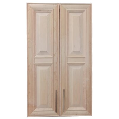 Overton 21 x 38 Recessed Medicine Cabinet Finish: Unfinished