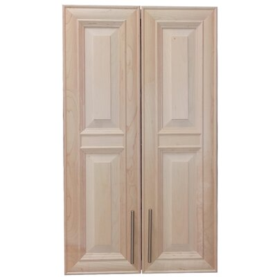 Overton 21 x 49 Recessed Medicine Cabinet Finish: Unfinished