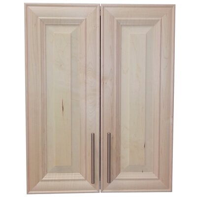 Overton 21 x 29 Recessed Medicine Cabinet Finish: Unfinished