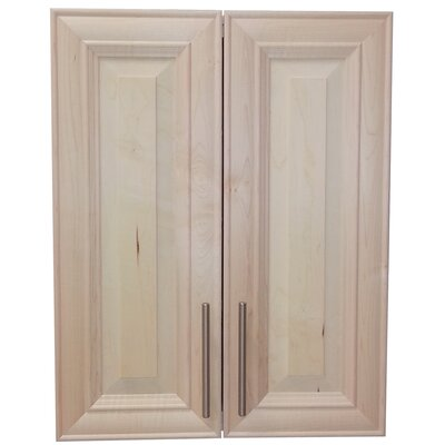 Overton 21 x 21 Recessed Medicine Cabinet Finish: Unfinished