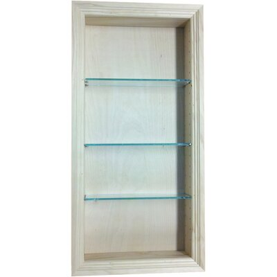Newberry 15.5 x 31.5 Recessed Medicine Cabinet