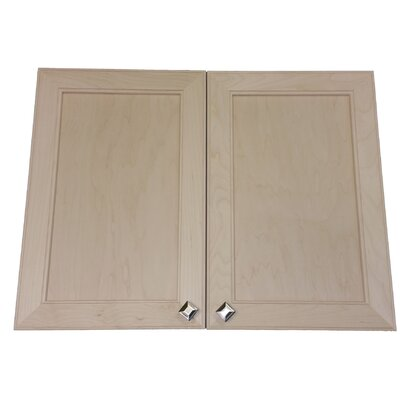 Village 31 x 31.5 Surface Mount Medicine Cabinet