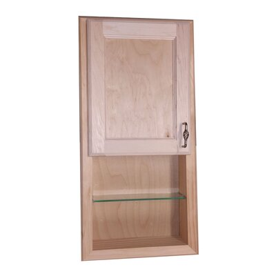 Christopher 14.13 x 30.13 Recessed Medicine Cabinet