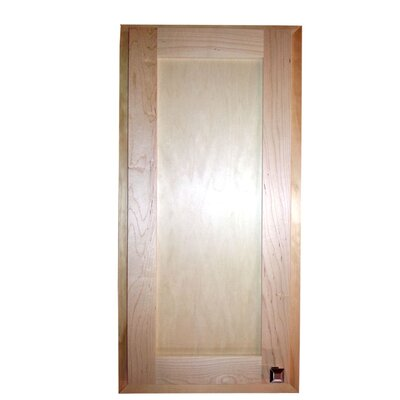 Christopher 14.13 x 24.13 Recessed Medicine Cabinet