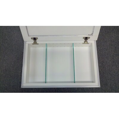 Frameless 15.5 x 37.5 Recessed Medicine Cabinet