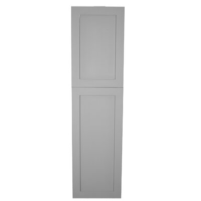 15.5 x 53  Recessed Cabinet Finish: Primed