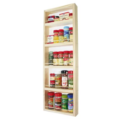 "WG Wood Products On the Wall Spice Rack - Size: 30"" at Sears.com"