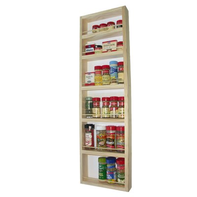 "WG Wood Products On the Wall Spice Rack - Size: 38"" at Sears.com"