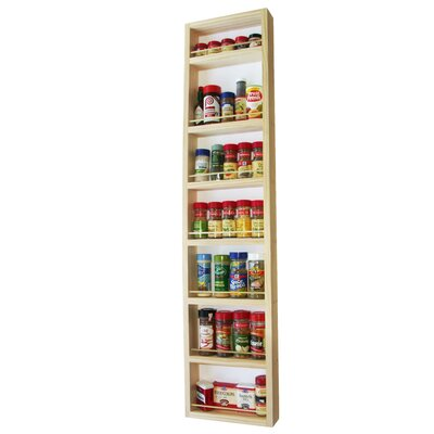 "WG Wood Products On the Wall Spice Rack - Size: 48"" at Sears.com"