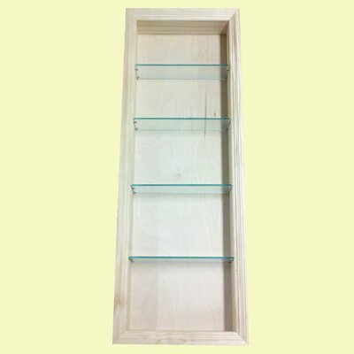 Newberry 15.5 x 43.5 Recessed Medicine Cabinet