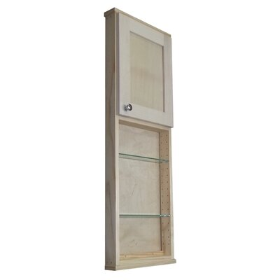 Shaker Series 15 x 43.5 Surface Mount Medicine Cabinet