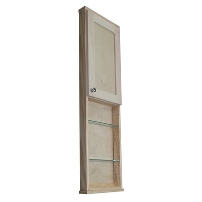 Shaker Series 15 x 49.5 Surface Mount Medicine Cabinet