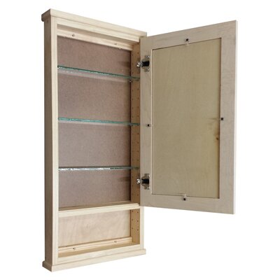 Shaker Series 15 x 31.5 Surface Mount Medicine Cabinet