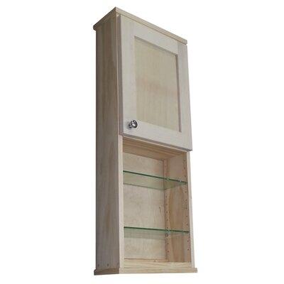 Shaker Series 15 x 37.5 Surface Mount Medicine Cabinet