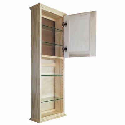 Ashley Series 15.25 x 43.5 Surface Mount Medicine Cabinet
