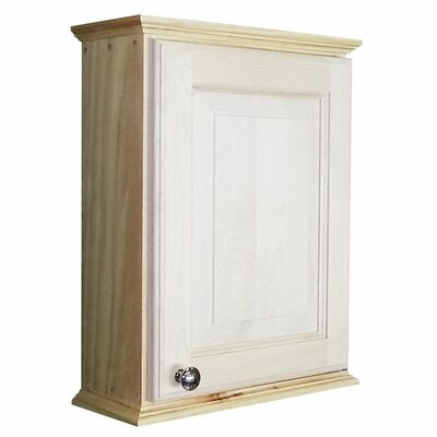 Ashley Series 15.25 x 19.5 Surface Mount Medicine Cabinet Size: 19.5 H x 15.25 W x 4.25 D
