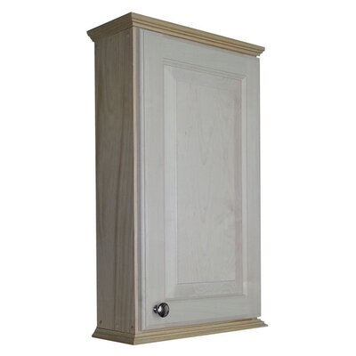 Ashley Series 15.25 x 25.5 Surface Mount Medicine Cabinet Size: 25.5 H x 15.25 W x 6.25 D