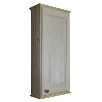 Ashley Series 15.25 x 31.5 Surface Mount Medicine Cabinet Size: 31.5 H x 15.25 W x 6.25 D