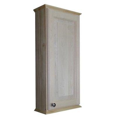 Ashley Series 15.25 x 31.5 Surface Mount Medicine Cabinet Size: 31.5 H x 15.25 W x 8 D