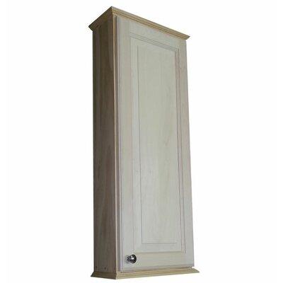 Ashley Series 15.25 x 37.5 Surface Mount Medicine Cabinet Size: 37.5 H x 15.25 W x 8 D
