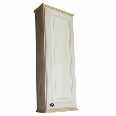 Ashley Series 15.25 x 37.5 Surface Mount Medicine Cabinet Size: 37.5 H x 15.25 W x 4.25 D