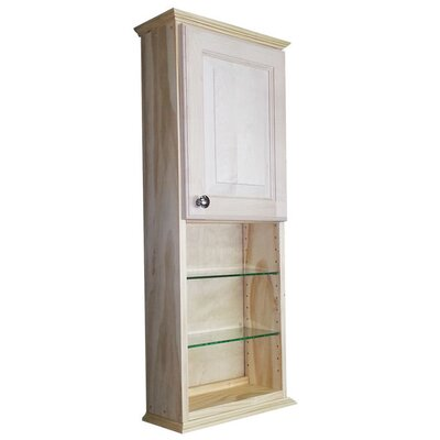 Ashley Series 15.25 x 37.5 Surface Mount Medicine Cabinet