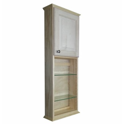Ashley Series 15.25 x 43.5 Surface Mount Medicine Cabinet