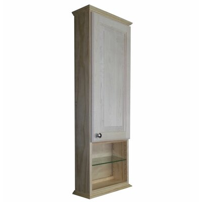 Shaker Series 15.25 x 43.5 Surface Mount Medicine Cabinet Size: 43.5 H x 15.25 W x 6.25 D
