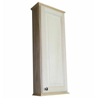 Ashley Series 15.25 x 37.5 Surface Mount Medicine Cabinet Size: 37.5 H x 15.25 W x 3.25D