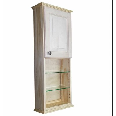 Ashley Series 15.25 x 37.5 Surface Mount Medicine Cabinet Size: 37.5 H x 15.25 W x 3.25 D