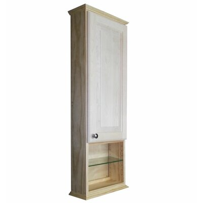 Shaker Series 15.25 x 43.5 Surface Mount Medicine Cabinet Size: 43.5 H x 15.25 W x 3.25 D