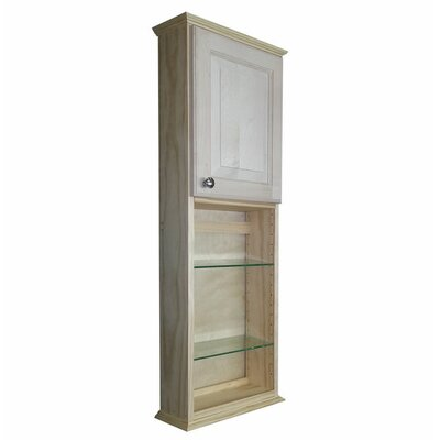 Shaker Series 15.25 x 49.5 Surface Mount Medicine Cabinet