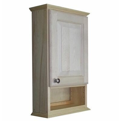 Ashley Series 15.25 x 25.5 Surface Mount Medicine Cabinet