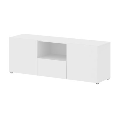 Dawson TV Stand Finish: White