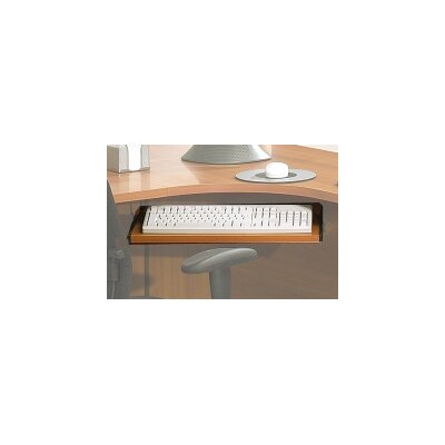 600 Series 0.75 H x 20 W Desk Keyboard Tray Finish: Light Maple