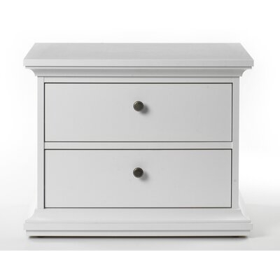 Easy financing Somerset 2 Drawer Nightstand Finish...