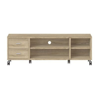 Kandras 63 TV Stand Color: Oak Structure
