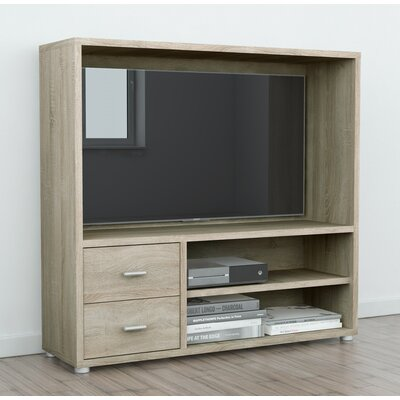 Kandras 47 Entertainment Center Color: Oak Structure