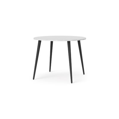 Mateer Dining Table Base color: Black