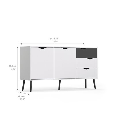 Park Avenue Sideboard with 2 Doors