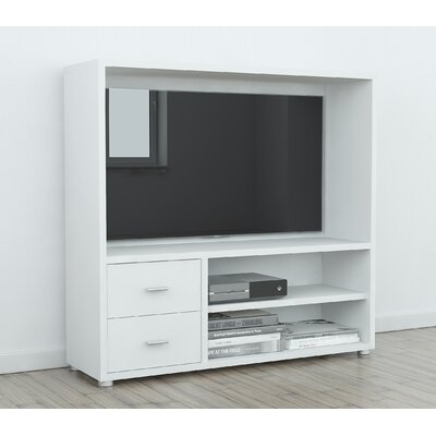 Kandras 47 Entertainment Center Color: White