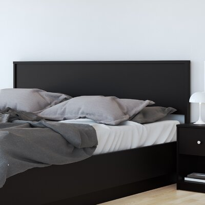 Conder Full/Queen Panel Headboard Color: Black