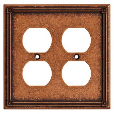Brainerd Ruston Double Duplex Wall Plate