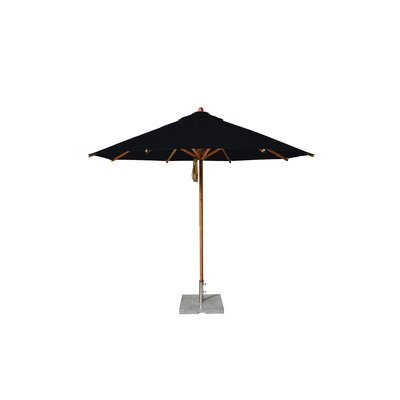 10 Levante Market Umbrella Fabric: Black