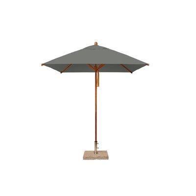 7 Levante Square Market Umbrella Fabric: Taupe