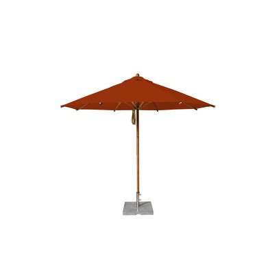 10 Levante Market Umbrella Fabric: Terracotta