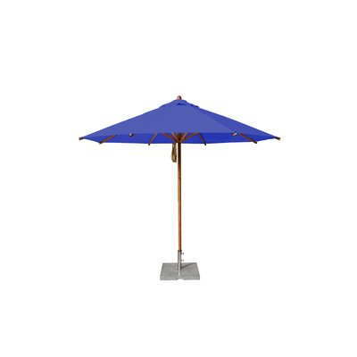 10' Levante Market Umbrella Fabric: Blue