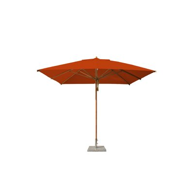 10 Levante Square Market Umbrella Fabric: Terracotta