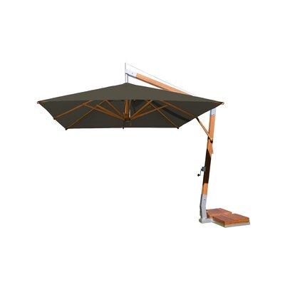 10 Sidewind Square Cantilever Umbrella Fabric: Taupe